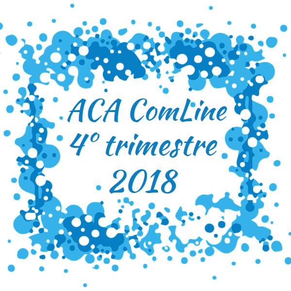 Boletín trimestral ACA ComLine - cuarto trimestre de 2018